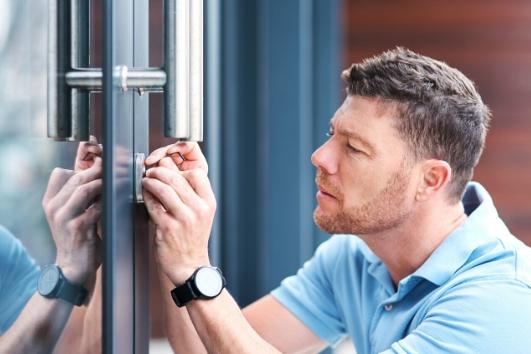 Door Security System: Locksmithing
